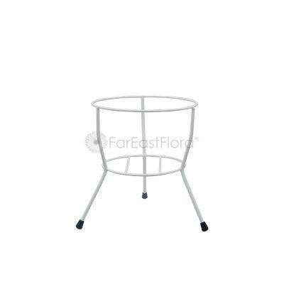 #107 Single Pot Stand (White)