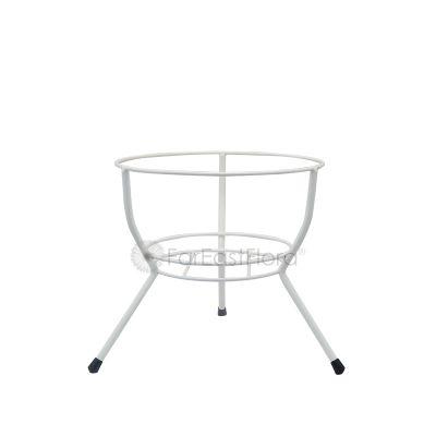 #108A Single Pot Stand (White)