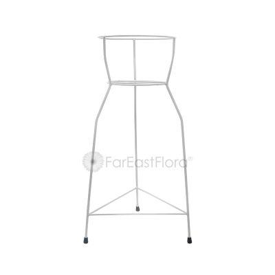 #109 Single Pot Stand (White)