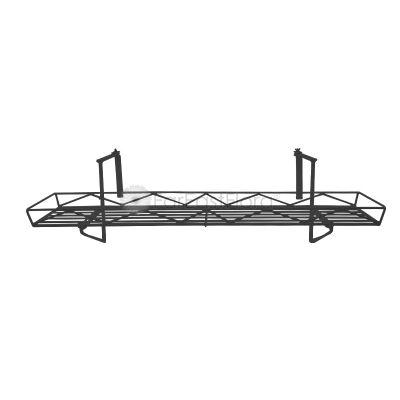 #151 Balcony Rack (Black/Red)