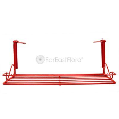 #15 Balcony Rack (Black/Red)