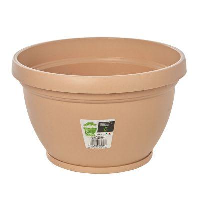 Idel Bio-Compo(s)t Lipari Pot + Saucer (27.5cm)