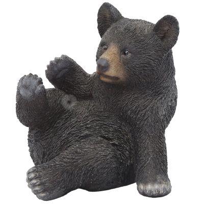 BJ132224V Baby Black Bear (L17xW13.8xH15.5cm)