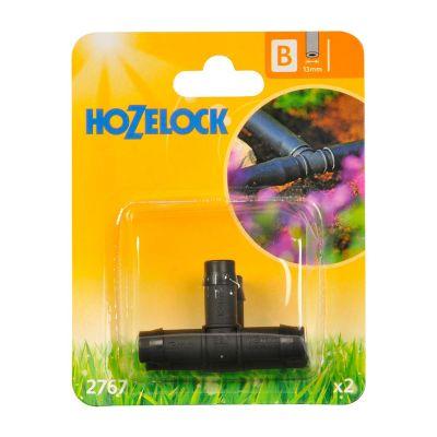 Hozelock 2767 'T' Piece 13mm (2s)