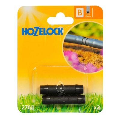 Hozelock 2768 Straight Connector 13mm (2s)