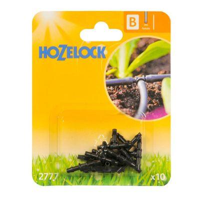 Hozelock 2777 'T' Piece 4mm (10s)