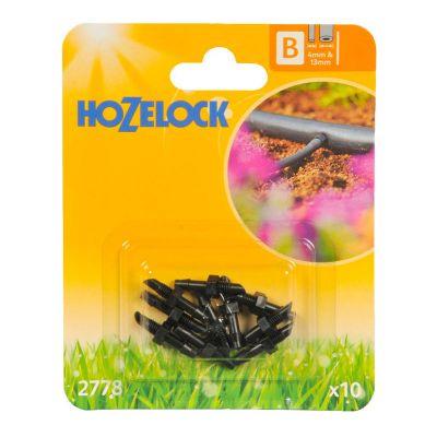Hozelock 2778 Straight Connector 4mm (10s)