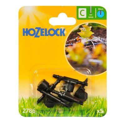 Hozelock 2786 In-Line Adjustable Mini Sprinkler (5s)