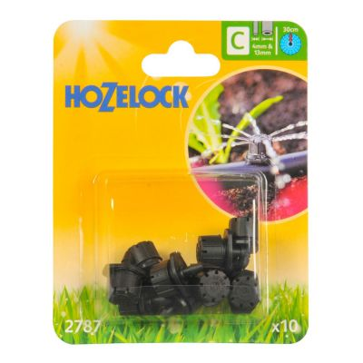 Hozelock 2787 End of Line Adjustable Mini Sprinkler (10s)