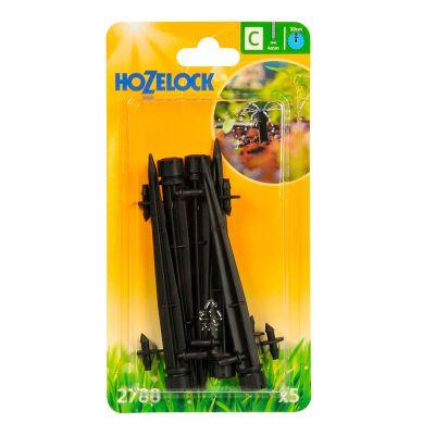 Hozelock 2788 End of Line Adjustable Mini Sprinkler on Stake (5s)