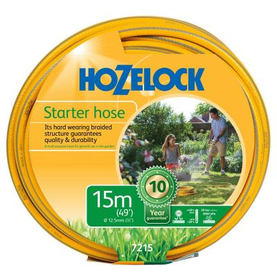Hozelock 7215-Y Maxi-Plus Yellow Hose (15M)