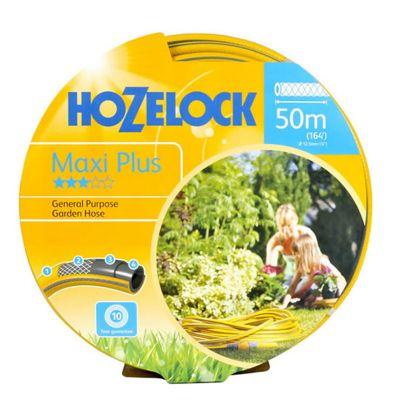 Hozelock 7250-Y Maxi-Plus Yellow Hose (50M)