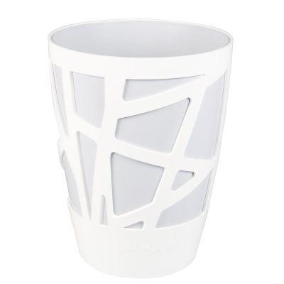Idel Mosaic Curve High Pot (13cm) - White
