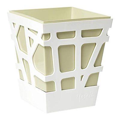 Idel Mosaic Quadro Pot (17cm) - Beige