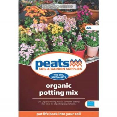 Peats Organic Potting Mix (22L)