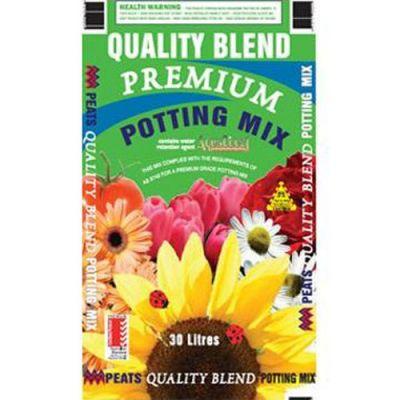 Peats Quality Blend Premium Potting Mix (30L)