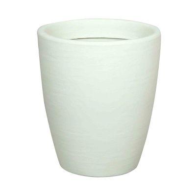 Vasar TROBB M36C77 Pot (Ø30cmxH36cm) - Bianco Perla