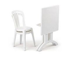 Bristrot Chair & Vega Table